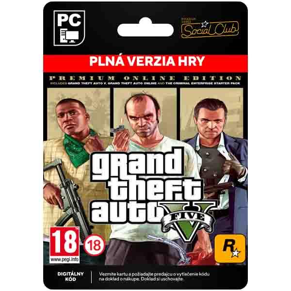 Grand Theft Auto 5 (Premium Online Edition) [Social Club]