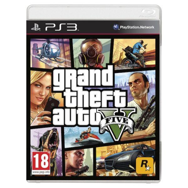 Grand Theft Auto 5 [PS3] - BAZÁR (použitý tovar , zmluvná záruka 12 mesiacov)
