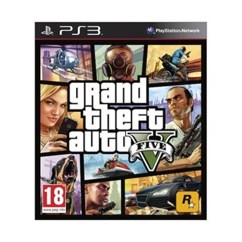 Grand Theft Auto 5-PS3 - BAZ�R (pou�it� tovar)