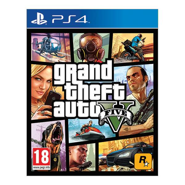 Grand Theft Auto 5 [PS4] - BAZÁR (použitý tovar)