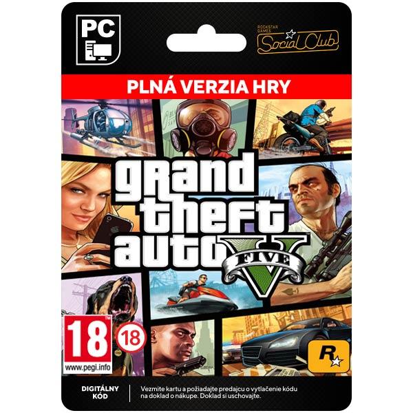 Grand Theft Auto 5 [Social Club]