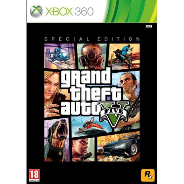 Grand Theft Auto 5 (Special Edition) [XBOX 360] - BAZÁR (použitý tovar)