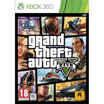 Grand Theft Auto 5- XBOX 360- BAZÁR (použitý tovar)