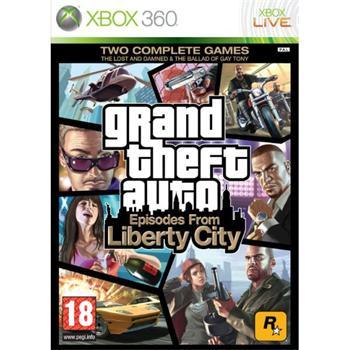 Grand Theft Auto: Episodes from Liberty City XBOX 360 - BAZÁR (použitý tovar)