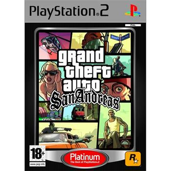 Grand Theft Auto: San Andreas [PS2] - BAZ�R (pou�it� tovar)