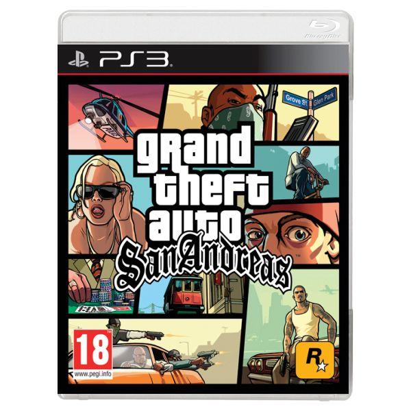 Grand Theft Auto: San Andreas [PS3] - BAZÁR (použitý tovar)