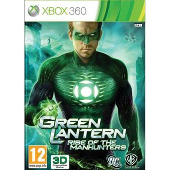 Green Lantern: Rise of the Manhunters [XBOX 360] - BAZÁR (použitý tovar)