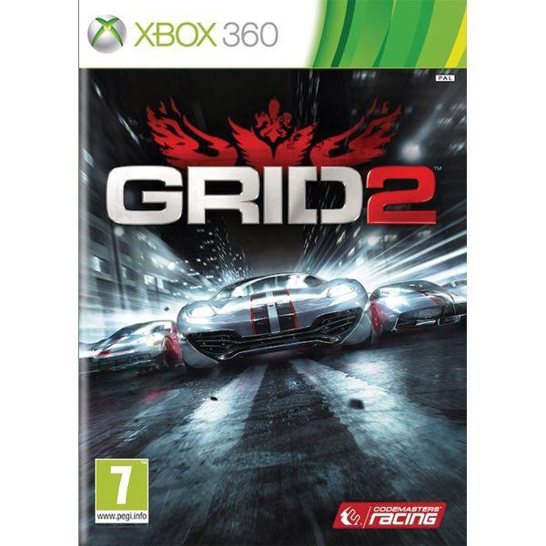 GRID 2 - XBOX 360- BAZÁR (použitý tovar)
