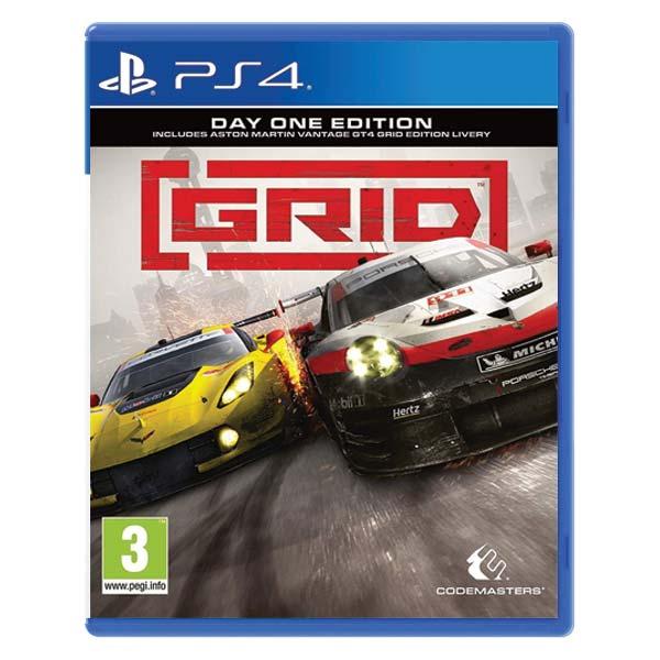 GRID [PS4] - BAZÁR (použitý tovar)