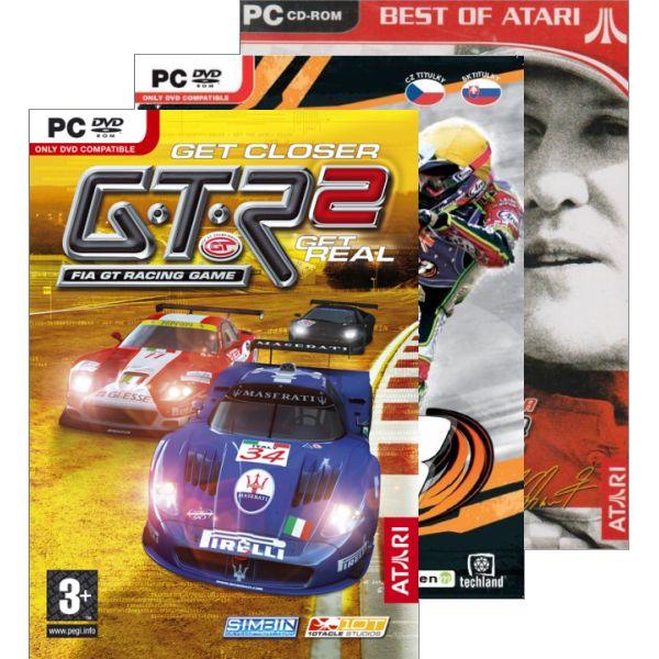 GTR 2 + FIM Speedway GP 3 + Michael Schumacher Racing World Kart