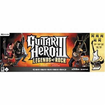 Guitar Hero 3: Legends of Rock + gitara
