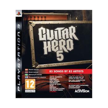Guitar Hero 5 [PS3] - BAZÁR (použitý tovar)