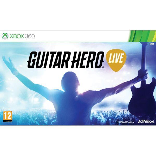Guitar Hero Live + gitara [XBOX 360] - BAZÁR (použitý tovar)