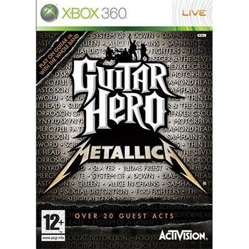 Guitar Hero: Metallica [XBOX 360] - BAZ�R (pou�it� tovar)