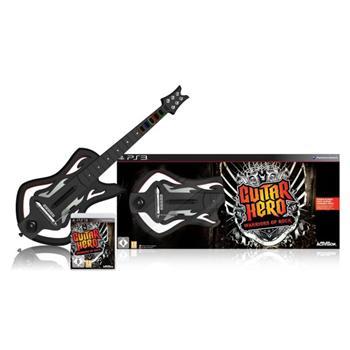 Guitar Hero: Warriors of Rock + gitara [PS3] - BAZÁR (použitý tovar)