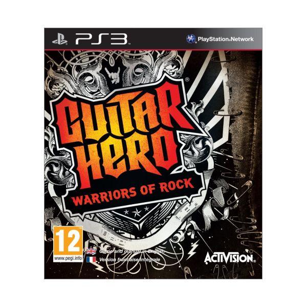 Guitar Hero: Warriors of Rock [PS3] - BAZÁR (použitý tovar)
