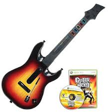 Guitar Hero World Tour + gitara [XBOX 360] - BAZ�R (pou�it� tovar)