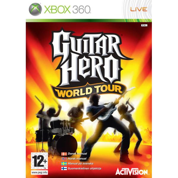 Guitar Hero: World Tour [XBOX 360] - BAZÁR (použitý tovar)