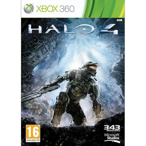Halo 4- XBOX 360- BAZÁR (použitý tovar)