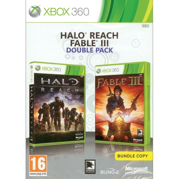 Halo: Reach + Fable 3 CZ (Double Pack)