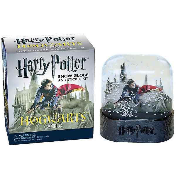 Harry Potter Hogwarts Castle Snow Globe and Sticker Kit (Miniature Editions) RP449262