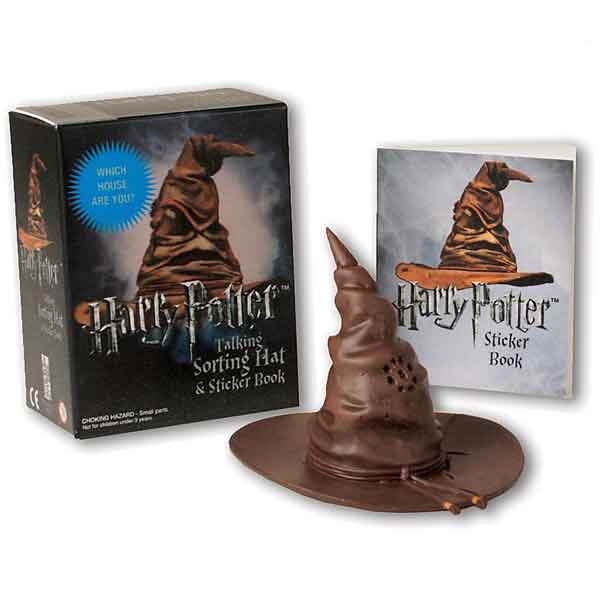 Harry Potter Talking Sorting Hat and Sticker Book (Miniature Editions) RP461769