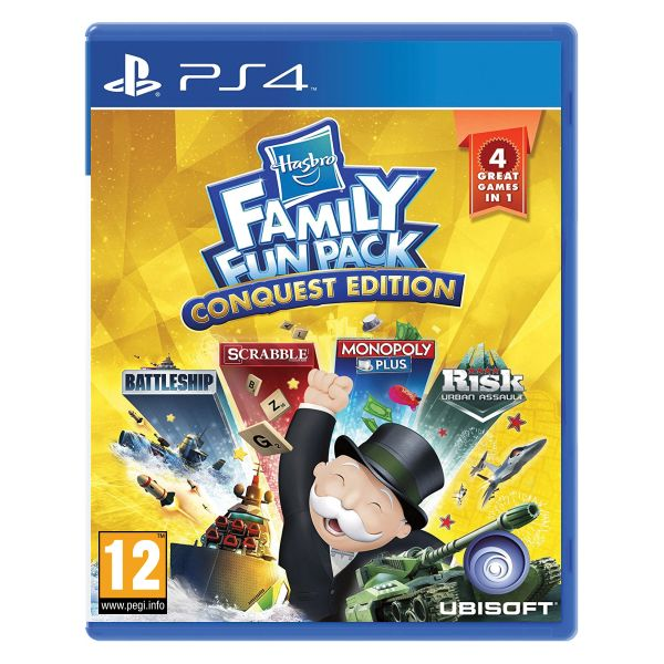 Hasbro Family Fun Pack (Conquest Edition) PS4