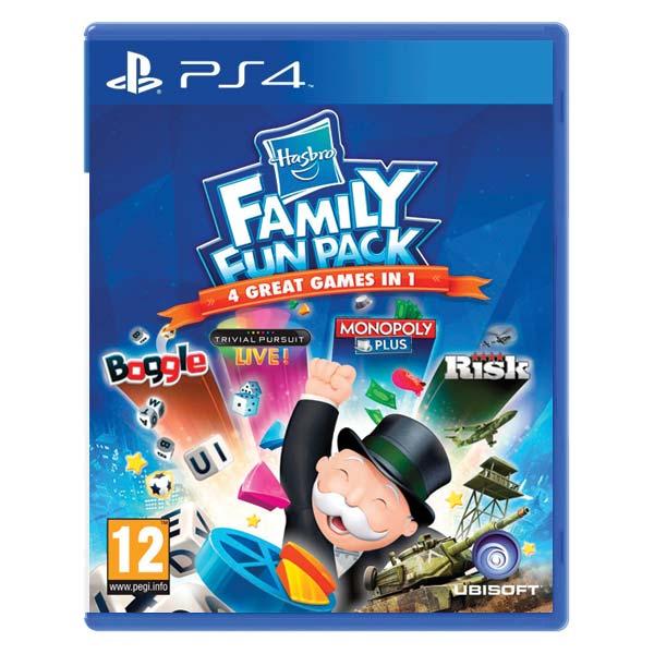 Hasbro Family Fun Pack [PS4] - BAZÁR (použitý tovar)