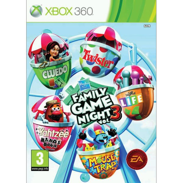 Hasbro Family Game Night vol. 3 XBOX 360