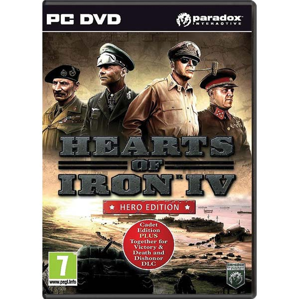 Hearts of Iron 4 (Hero Edition) PC
