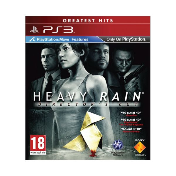 Heavy Rain (Director's Cut) [PS3] - BAZÁR (použitý tovar)