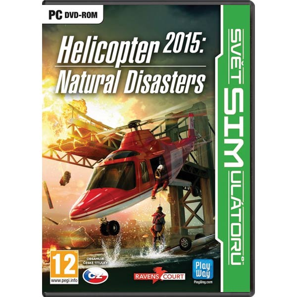 Helicopter 2015: Natural Disasters CZ