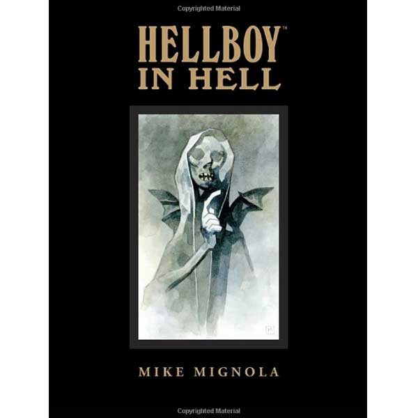 Hellboy in Hell Library Edition komiks