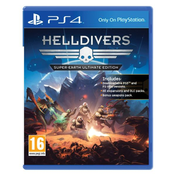 Helldivers (Super-Earth Ultimate Edition) PS4