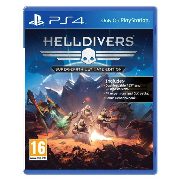 Helldivers (Super-Earth Ultimate Edition) [PS4] - BAZÁR (použitý tovar)