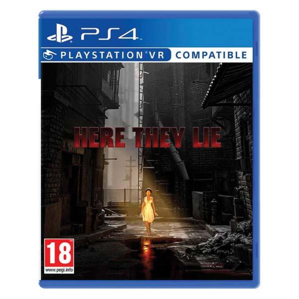 Here They Lie [PS4] - BAZÁR (použitý tovar)