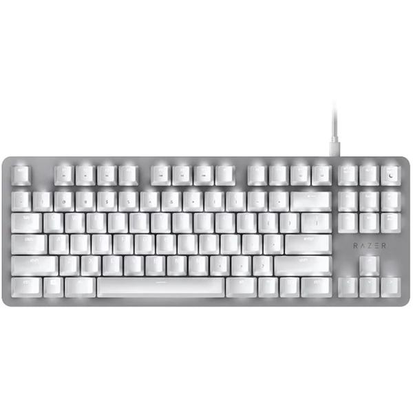 Herná klávesnica Razer BlackWidow Lite (Orange Switch Mercury Edition)