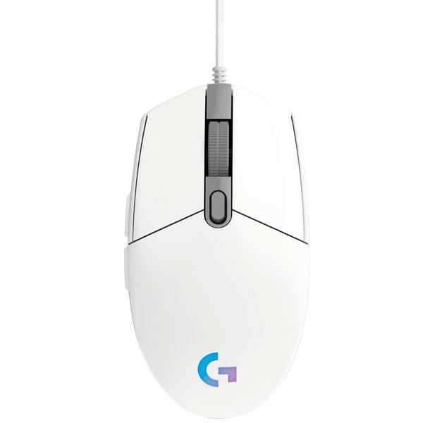 Herná myš Logitech G203 Lightsync, white