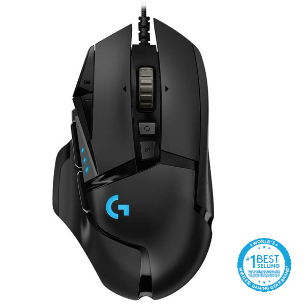 Herná myš Logitech G502 Hero High Performance Gaming Mouse