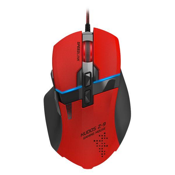 Herná myš Speedlink Kudos Z-9 Gaming Mouse, èervená