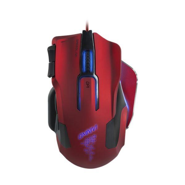 Herná myš Speedlink Omnivi Core Gaming Mouse, èerveno-èierna