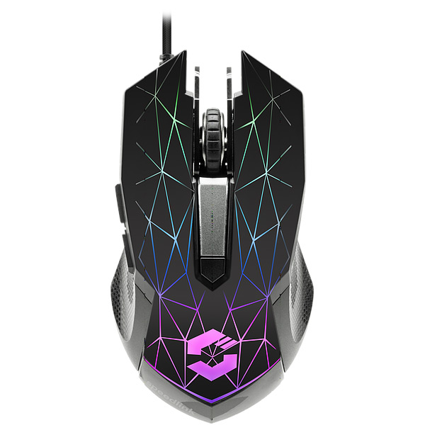 Herná myš Speedlink Reticos RGB Gaming Mouse, black