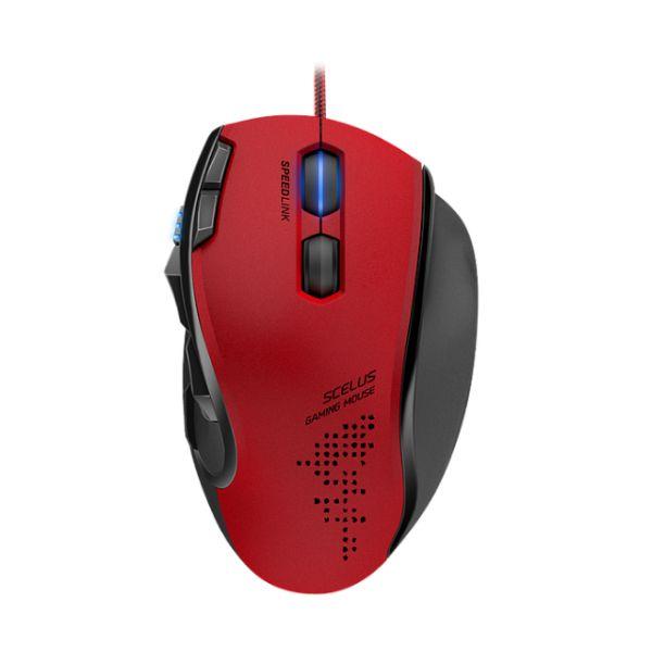 Herná myš Speedlink Scelus Gaming Mouse, èierno-èervená
