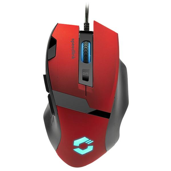 Herná myš Speedlink Vades Gaming Mouse, červená