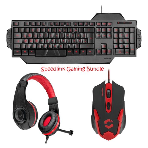 Herné kombo Speed-Link Gaming Bundle