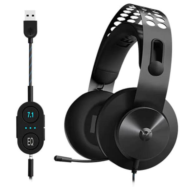 Herné slúchadlá Lenovo Legion H500 Pro 7.1 Surround Sound Gaming Headset