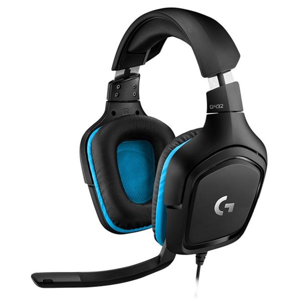 Herné slúchadlá Logitech G432 7.1 Surround Sound Gaming Headset