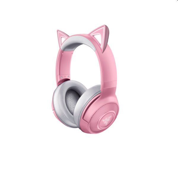 Herné slúchadlá Razer Kraken BT Kitty Edition ružové