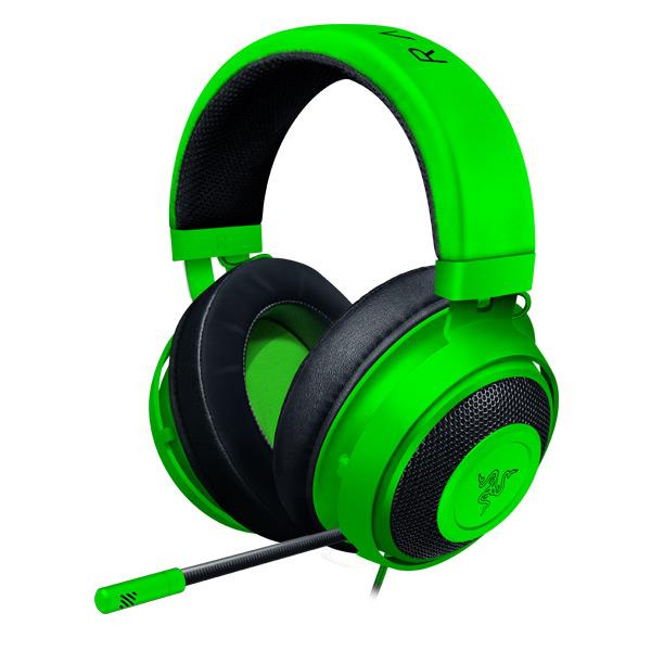 Herné slúchadlá Razer Kraken, green (2019 Edition)