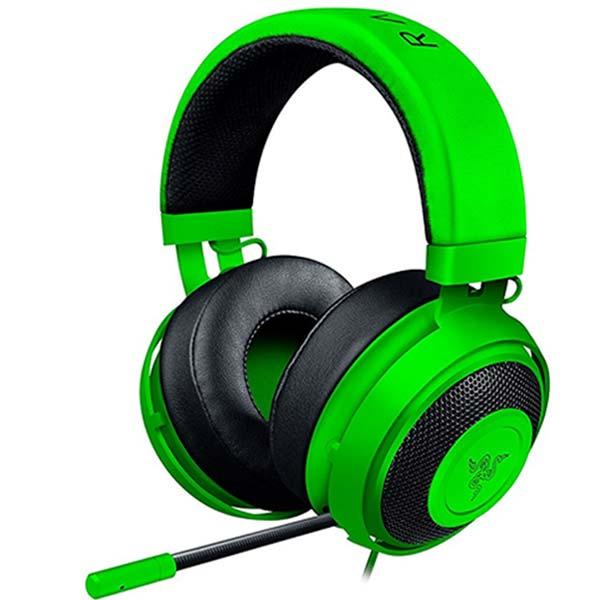 Herné slúchadlá Razer Kraken Pro V2, zelené